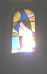 Pujol 12: stained glass -left- by tonymec
