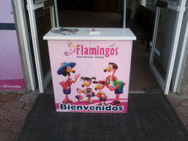 Los Flamingos by Sherymon