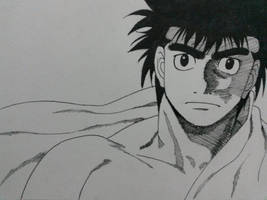 Ippo (Fan Art) by AirtonCS