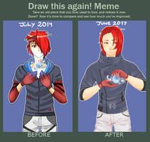 Draw this again meme by KukkiSouppi