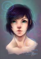 Commission - FFXIV portrait by Chiichanny