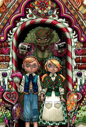 Hansel and Gretel by JJKirby