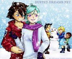 Re-up: Thurston family winter by suzanami