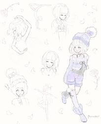 Agape ~ Sketch Page by Burucheri