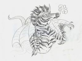 Zebra gonnabe tattoo by BornCrazy7189