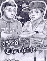 Good Charlotte - top half by BornCrazy7189