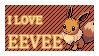 #133 - Eevee Stamp by MrDarkBB