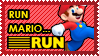Mario RUN Stamp by MrDarkBB