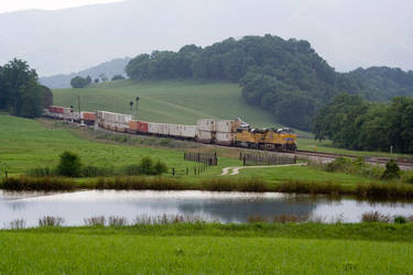A Train in Solitude by Trainman51