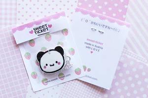 strawberry panda by thirdratedstar