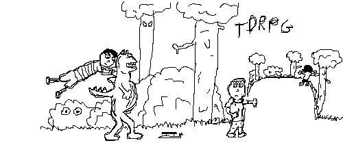 RPG Sketch by fist-of-death