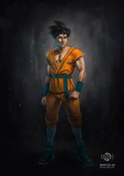 Goku by jaquesmorgan