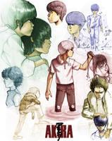 Akira Characters by Zlatolin
