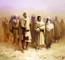 Passage through the desert by Zlatolin