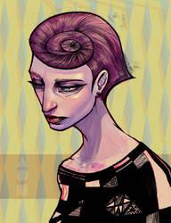 Sad Lady by Hikaru-Fer