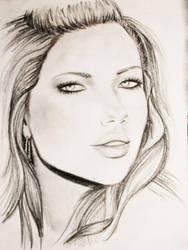 Adriana Lima. by vdepatie