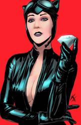 Catwoman K by rswolvi