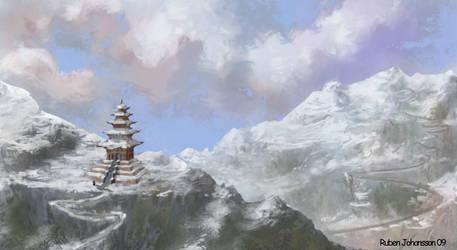 Environment Nepal by Nebur1on
