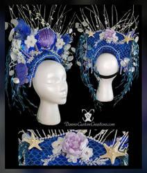 Queen Mermaid Headdress by dawnsattire