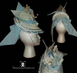 Bustle Hat by dawnsattire