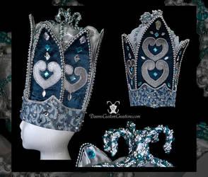 Carnival Crown by dawnsattire