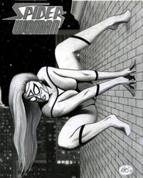 SPIDER-WOMAN by KSowinski