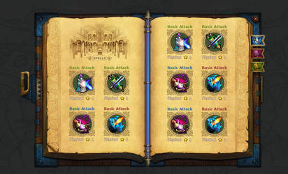 spell book by nangeyi