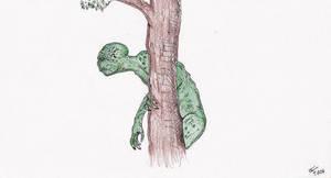 lizardman by GoldenOgre