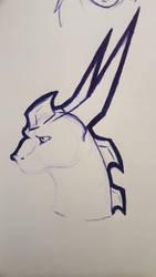 Mizu Sketch by r3n33gurl101