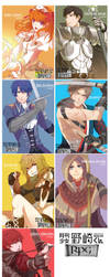GSNK RPG postcards [Tictail available] by ahoguu