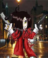 cute evil hellsing by saintpepsi