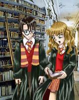 Harry Potter by saintpepsi