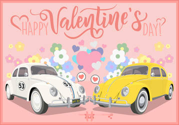 Herbie x Bumblebee - Valentine's Day 2019 by HayateHayashi94