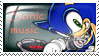 Sonic Music Stamp by Ana-Mae