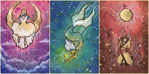 Sonne, Mond und Sterne by IcedNaly