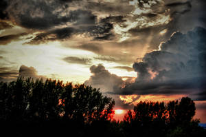 Sunset in Lublin by OlgaC