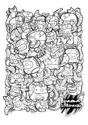 doodledoods-bw by loveshugah