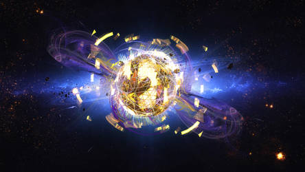 Last Breath of The dying Ringed Star Fx by ArtwithoutabrushFx