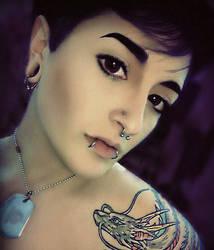 ID: Ink and Metal by Reynbeau12