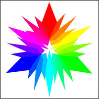 Broken Color Wheel by KelHemp