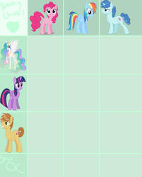 Another MLP Breeding Chart (OPEN) by SpecialShinx