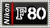 Stamp : Nikon F80 by Pharaviel