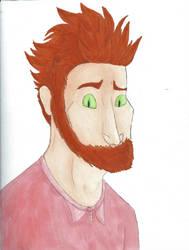 Kittrid's beautiful face by Hugrf