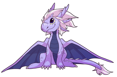 sweet baby dragon by Hawktalon07