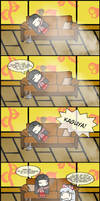 Kaguya and Mokou's 420 Blazeit Adventure by Mr-Wang