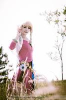 Dreaming of Zelda (SS Zelda) - Colossalcon2012 by fuzzypanda0