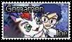 Joe and Gomamon Stamp by funlakota