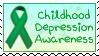 Childhood Depression Awareness Stamp by funlakota