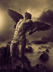 A Fallen Angel by msabas