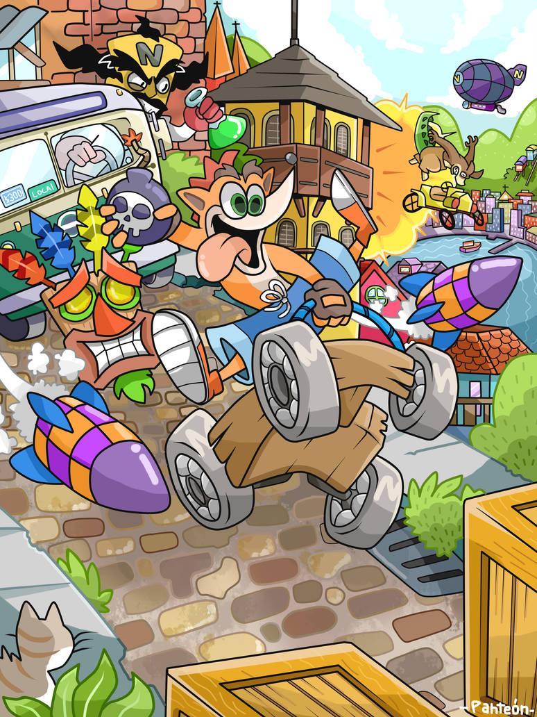 Crash Bandicoot by DonPanteon
